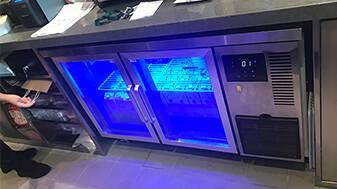 为什么厨房风冷冷柜会积水?