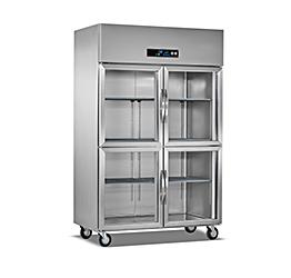 玻璃门厨房冷柜