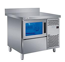 蓝光吧台制冰机