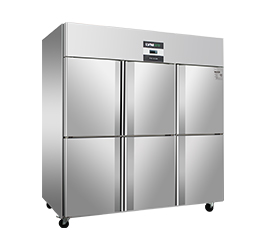 LVNI绿零S款六门厨房冷柜